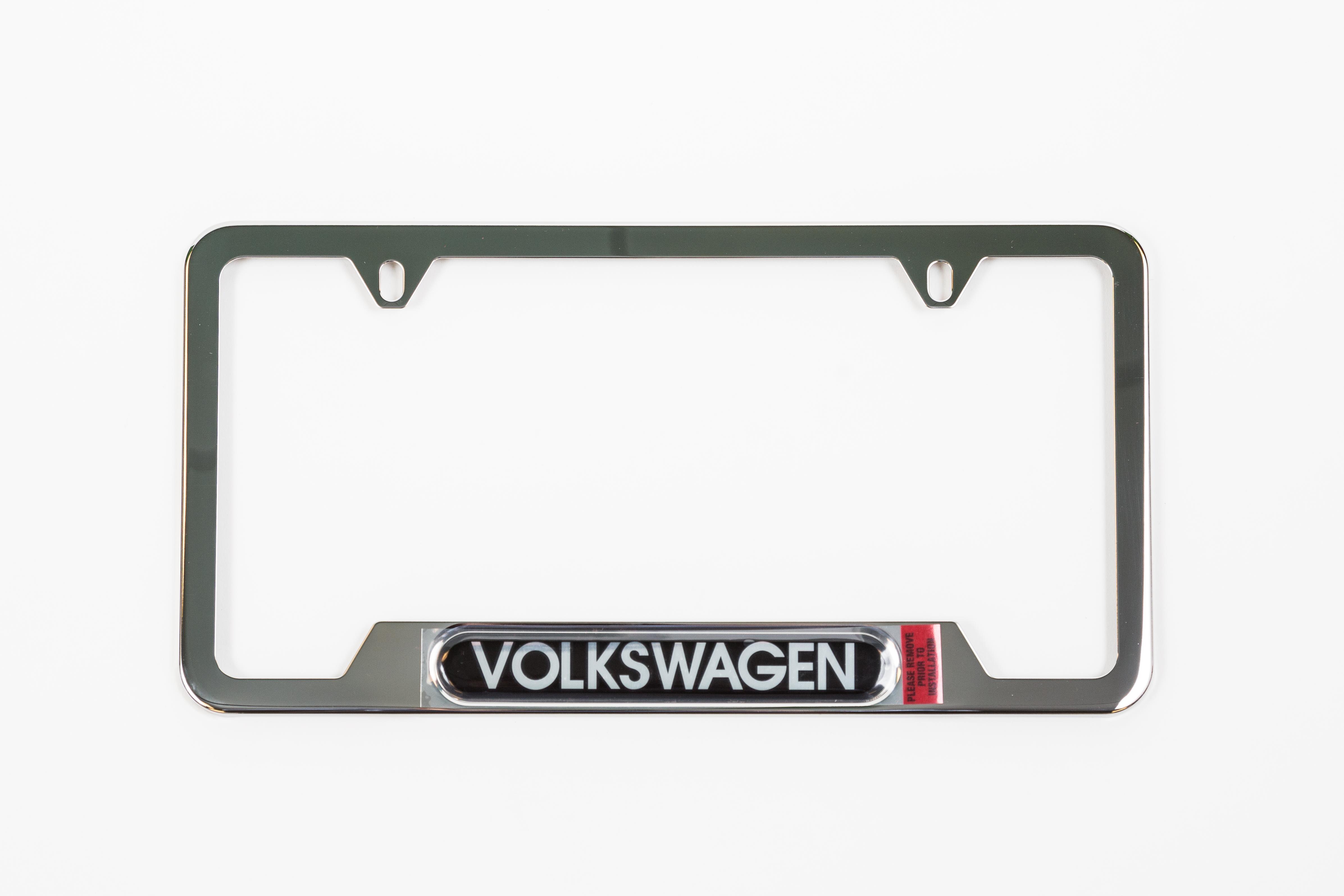 Volkswagen Beetle License Plate Frame Volkswagen